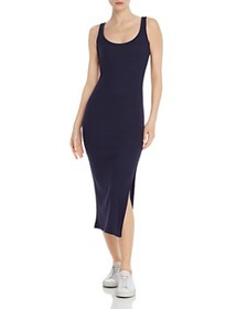 FRENCH CONNECTION - Tommy Ribbed Maxi Dress