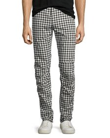 G-Star Powel Houndstooth Tapered Jeans