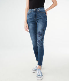 Aeropostale Seriously Stretchy High-Rise Ankle Jeg