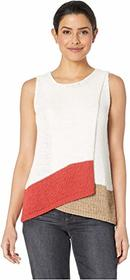 Vince Camuto Sleeveless Asymmetrical Fold-Over Fro