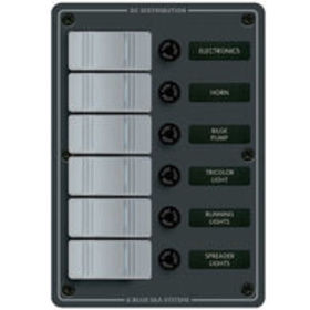 Blue Sea Water-Resistant Contura Switch Fuse Panel
