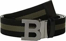 Bally B Buckle Fixed/Reversible Belt