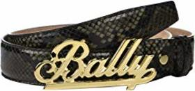 Bally Adjustable Swoosh Belt
