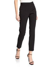 Donna Karan Tech Cady Skinny Ankle Pants