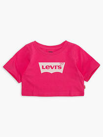 Levi's Toddler Girls 2T-4T Light Bright Cropped To