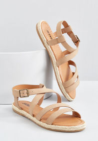 Channeling Casual Sandal Camel