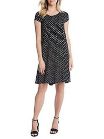 Karen Kane Maggie Trapeze Shift Dress BLACK