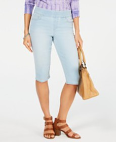 Style & Co Avery Pull-On Skimmer Shorts, Created f