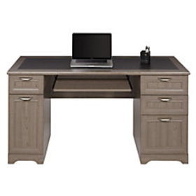 Realspace Magellan Managers Desk Gray
