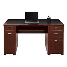 Realspace Magellan Managers Desk Classic Cherry