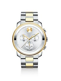 Movado BOLD Chronograph Two-Tone Stainless Steel B