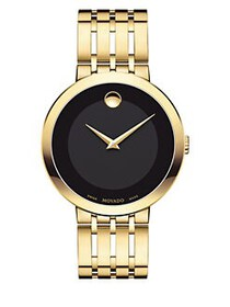 Movado Esperanza Yellow Goldtone PVD Finished Stai