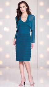 Social Occasions - Two-Piece Ruched Sweetheart Dre