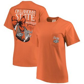 Oklahoma State Cowboys Women's Comfort Colors Foot