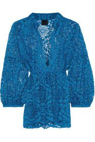 ANNA SUI Corded lace top