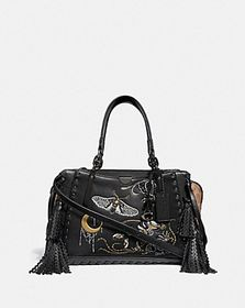 Coach dreamer in signature canvas with tattoo