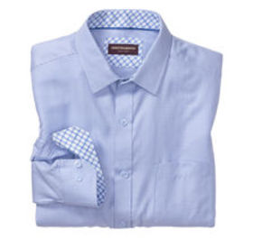 Johnston Murphy Micro Cross Line Dress Shirt
