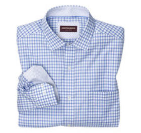 Johnston Murphy Shadow Box Square Dress Shirt
