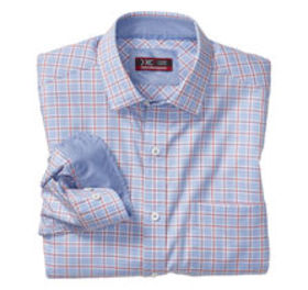 Johnston Murphy XC4® Bold Windowpane Point-Collar