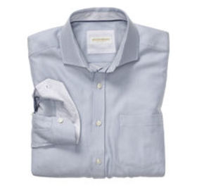 Johnston Murphy Italian Diagonal Dash Dress Shirt
