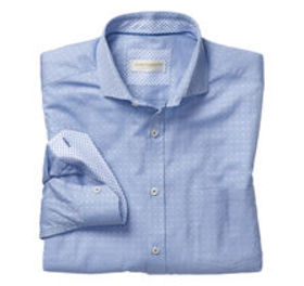 Johnston Murphy Italian Accented Neat Shirt