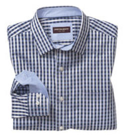 Johnston Murphy Two-Tone Gingham Shirt
