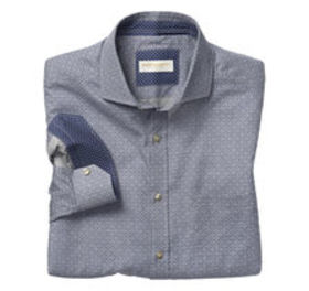Johnston Murphy Italian Scroll Diamond Shirt