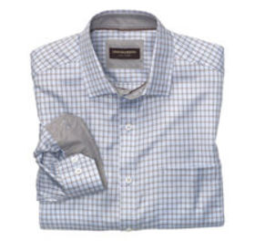 Johnston Murphy Framed Twill Square Shirt