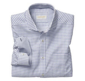 Johnston Murphy Italian Raised Grid Shirt