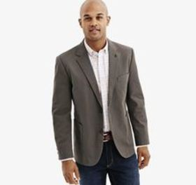 Johnston Murphy Circle Dot Cotton-Blend Blazer