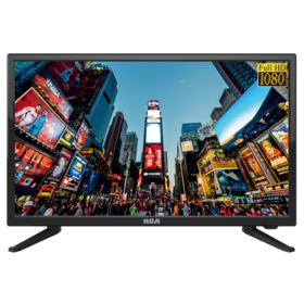 "RCA 24"" Class FHD (1080P) LED TV with Built-in DVD"