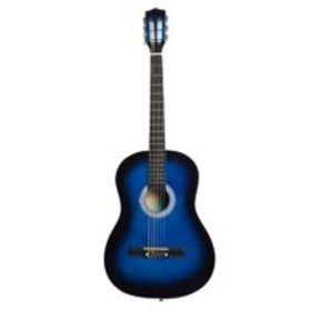 """Zimtown 38"""" Acoustic Guitar Brown + Pick + Chord"""