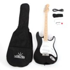 Glarry Maple Fingerboard Electric Guitar with Case