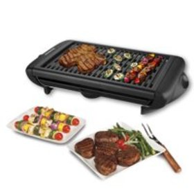 Portable 1120W Electric Barbecue Grill Adjustable