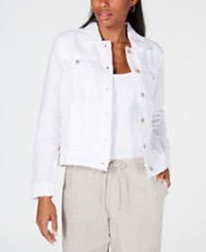 Charter Club Linen Jacket, Created for Macy's