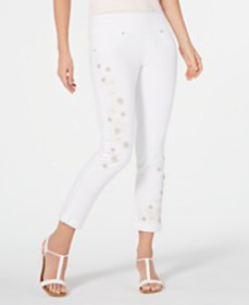 Style & Co Embellished Boyfriend Jeans, Created fo