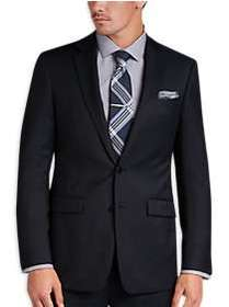 Calvin Klein Navy Tic Extreme Slim Fit Suit