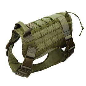Tactical Police-K9 Military Training Dog Harness A