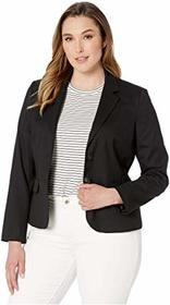 Jones New York Washable Suiting Two-Button Jacket