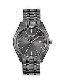 Bulova Dress Stainless Steel Bracelet Watch NO COL