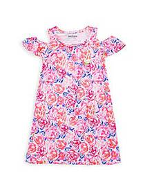 Juicy Couture Little Girl's Floral Dress PINK MULT