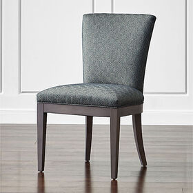 Crate Barrel Clayton Upholstered Dining Chair