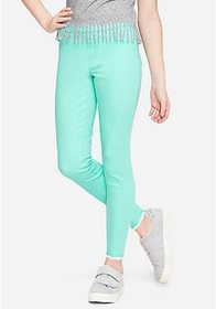 Justice Color Pull On Ankle Jean Leggings