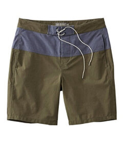 LL Bean Signature Hybrid Board Shorts, Colorblock
