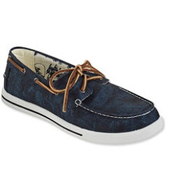 LL Bean Sunwashed Canvas Sneakers, Two-Eye