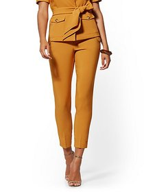Cargo-Pocket Ankle Pant - 7th Avenue - New York &