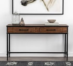 Pottery Barn Juno Reclaimed Wood Console Table