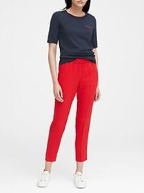 Hayden Tapered-Fit Pull-On Ankle Pant
