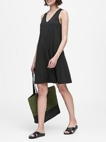 Soft Ponte Swing Dress