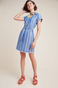 Anthropologie Pilcro Striped Dress